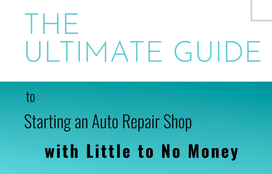 The ultimate guide to starting a repair shop with little to no money